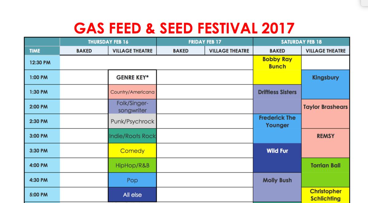 Download line up chart for gas fest karenlovescountry nvjuhfo Choice Image