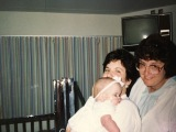 Hope, Karen and nurse Myrna